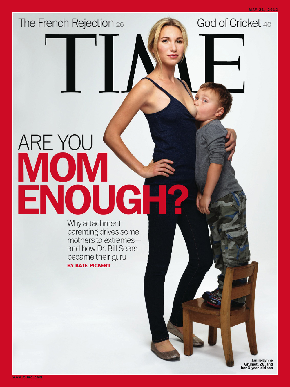 Time Magazine and toddler breastfeeding | The Village