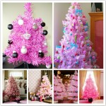 A shop is holding an ornament contest to go with their very pink theme.
