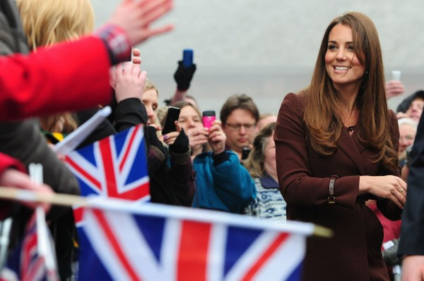 Kate Middleton visits Grimsby -1744179