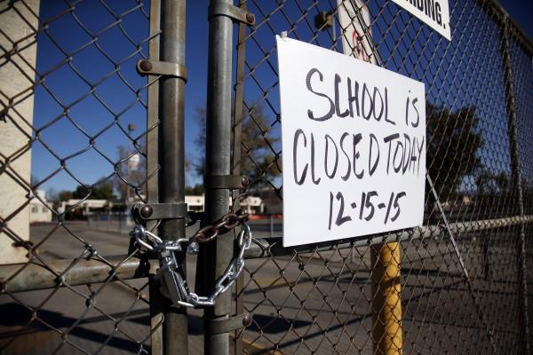 APTOPIX Los Angeles Schools Threat