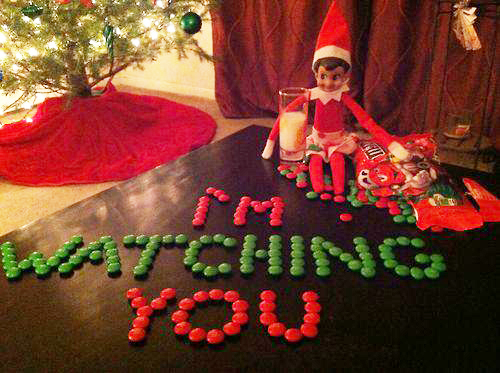 The Elf On The Shelf Is Watching You The Village
