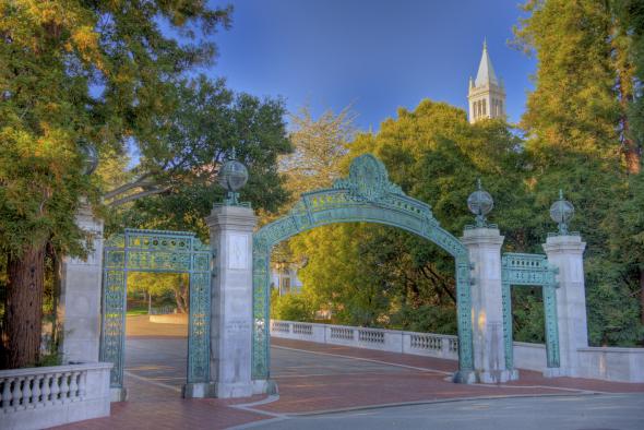 Sather Gate at Cal Berkeley