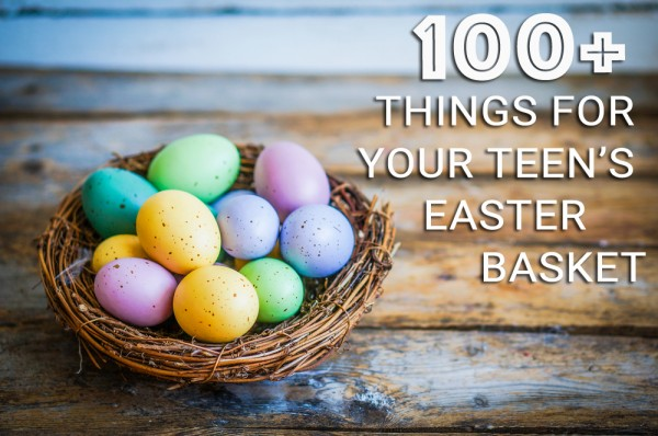 100 things for your teenagers easter basket the village when it comes to easter baskets kids are easy to shop for grab some jelly beans and chocolate bunnies gather a few small toys add the artificial grass negle Images