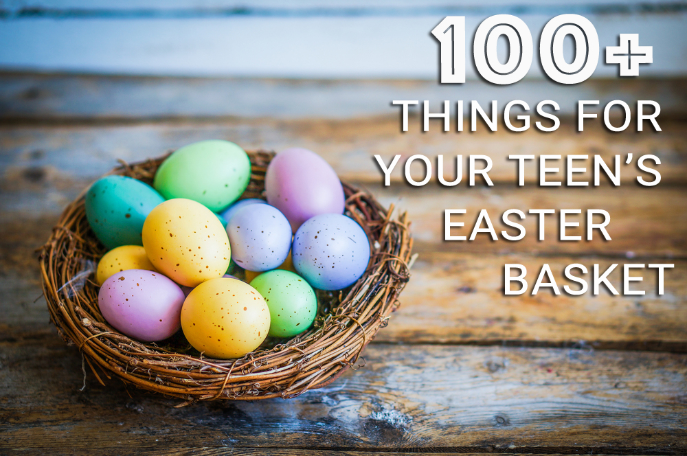 100 things for your teenagers easter basket the village about this blog negle Choice Image